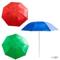 Пляжна парасолька посилена (система ромашка)