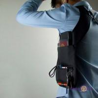 Сумка месенджер чоловіча Агент 007 - сумка кобура для прихованого носіння