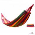 Мексиканський гамак тканинний, підвісний гамак для дачі 185х150 см
