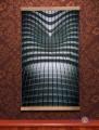 Картина електрообігрівач настінний Абстракція Хай-Тек, Тріо, 400 W