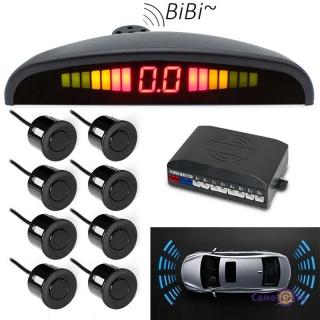 Парктронік для авто на 8 датчиків парковки Parking Sensor