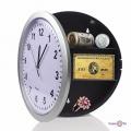 Настенные часы для кухни Safe Clock - оригинальный тайник для дома, 25 см