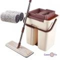 Швабра з віджиманням і відром Scratch Cleaning Mop (ведро: 35х17х19)