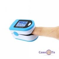 Пульсоксиметр X1906 на палець - для вимірювання пульсу і кисню в крові