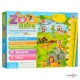 Говорящий настенный ростомер детский Зоопарк | Zoo Парк (UA + ENG)