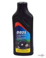 Відлякувач кротів Bros 500 ml, засіб від кротів на городі брос