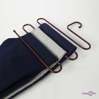 Многофункциональная вешалка для одежды, брюк, полотенец