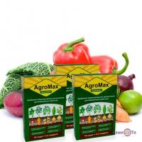 Агромакс мінеральне добриво (комплект 3 упаковки по 12 саше), підгодівля Agromax