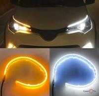 Світлодіодна стрічка The Light Guide Strips (30 см) ходові вогні з поворотами для авто