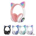 Бездротові навушники з котячими вушками CAT STN-28 безпровідні навушники з мікрофоном