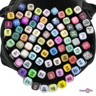УЦІНКА! Набір маркерів Touch (80 шт./уп.) маркери кольорові