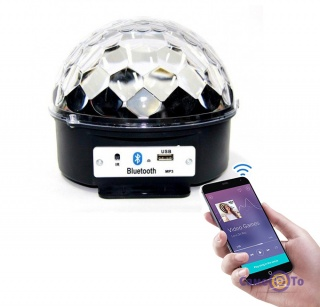 Светодиодный дискошар LED KTV Ball Lamp - светомузыка для дома