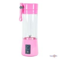 Портативний блендер для коктейлів та смузі Juice Cup USB, 380 мл