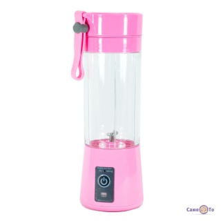 Портативный блендер шейкер для коктейлей Juice Cup USB, 380 мл