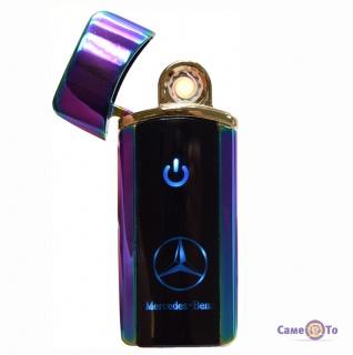 Спиральная электрозажигалка Classic Fashionable (BMW/Mercedes 5403 H1) - фиолетовая USB зажигалка
