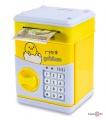 Дитячий сейф для грошей з кодовим замком - скарбничка Курча