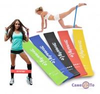 Набор резинок для фитнеса Esonstyle - спортивные резинки, 5 шт.