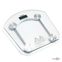 Ваги електронні підлогові - скляні ваги Matarix MX 451B  до 180 кг