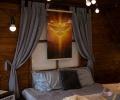 """Електричний плівковий обігрівач-картина """"Голуб Миру та Святий Дух"""" Тріо"""