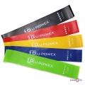 Фітнес резинка, в наборі 5 кольорів, спортивна резинка для тренувань  U-Powex (5 шт./уп.)