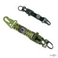 Браслет з паракорду тактичний 4 в 1 Paracord Fire Starter Bracelet TY-1619