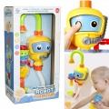 Игрушки в ванную для детей - набор игрушек для купания Robot Fountain