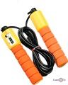Спортивна скакалка з лічильником, помаранчева (9 feet)