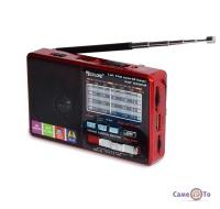 Радіоприймач акумуляторний з MP3 плеєром, USB + MicroSD, Golon RX-2277
