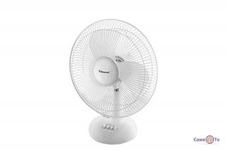 Маленький вентилятор настільний Domotec MS-1626 вентилятор в офис