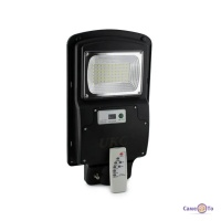 Вуличний ліхтар на сонячних батареях на стовп Cobra solar street light R1 1VPP 125W Remot з пультом