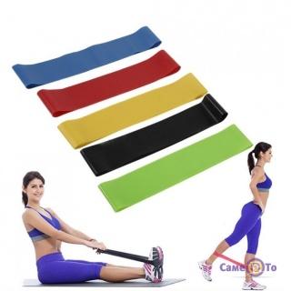 Спортивна резина для фітнесу Fitness Tape - резинові петлі для тренувань (5 шт./уп.)