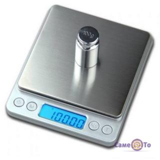 Профессиональные весы электронные Digital Table Topscale, до 2 кг